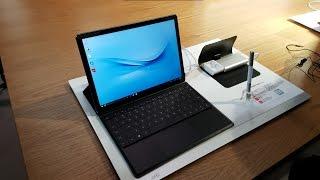 Huawei MateBook Test - http://www.mobilegeeks.de/test/huawei-matebook/ - Wir schauen uns das neue Huawei MateBook an, ein 12-inch 2-in-1, der auf der 6. Gene...