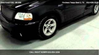 2000 Ford F150 SVT Lightning - for sale in , TX 77037