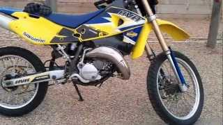2. Husqvarna wr 125 fully Roadlegal 2006