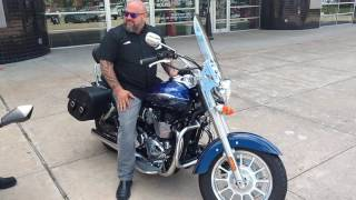 9. Mancuso Crossroads HD - Big Sexy on a Triumph American LT