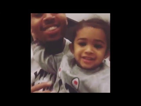 "Chris Brown Sings ""Little More"" For His Daughter Royalty"