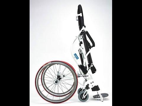 Wheelchair88 . LEO (Lightest Standing Wheelchair)