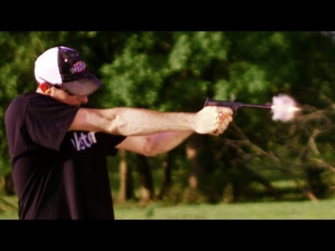 Driving - Driving a nail with a .22lr tracer looks a lot cooler in slow motion. .22lr tracers - http://pineymountainammunitionco.com/ Like me on Facebook http://www.fb...