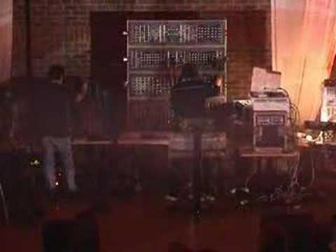 Redshift - UK electronic band REDSHIFT in Liphook in Oct 2002. This clip features building rhythm and atmosphere, featuring synths, guitar and of course, that huge Moog...