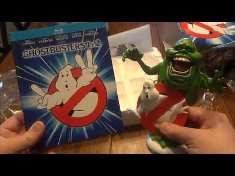 Ghostbusters 1 & 2: Limited Edition Gift Set Blu-ray Unboxing