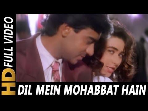Video Dil Mein Mohabbat Hai Aankhon Mein Pyar | Kumar Sanu, Alka Yagnik | Sangram 1993 Songs download in MP3, 3GP, MP4, WEBM, AVI, FLV January 2017