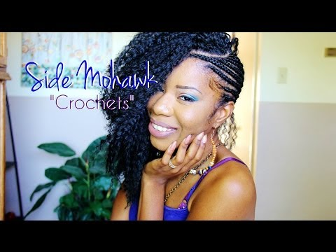 Side Mohawk PART 2: Crocheting & Cutting Hair