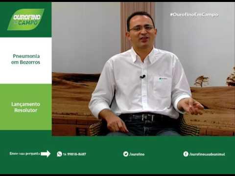Pneumonia em bezerros, Lançamento Resolutor - Ourofino Em Campo
