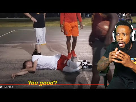 BRO WHAT HAPPENED?! The Professor Suffers Career Ending Injury... 2v2 vs Athletic Hoopers Miami Hood