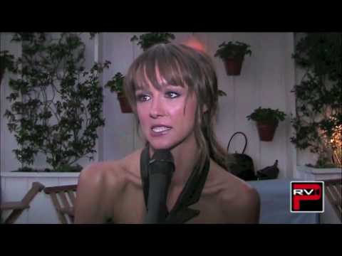 Sharni - Chris Trondsen of Pacific Rim Video talks to the lovely Sharni Vinson at the Step Up 3D Pool Party held at Sky Bar in the Mondrian Hotel West Hollywood this ...