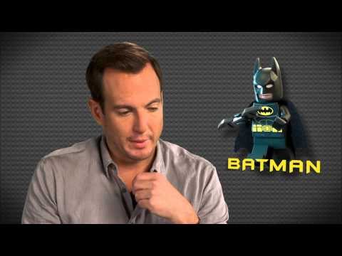 "The Lego Movie: Will Arnett ""Batman"" On Set Movie Interview"