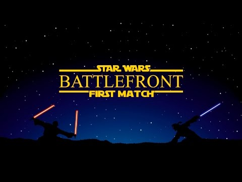 Star Wars Battlefront - Первый матч!