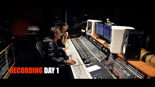 SteelHeart 2017 ALBUM Recording Session DAY 1 - VLOG #10