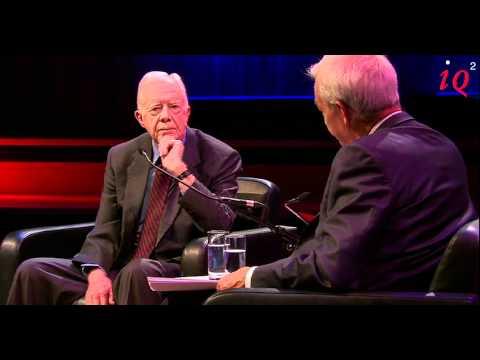 Jimmy Carter in conversation with Jon Snow - IQ2 talks