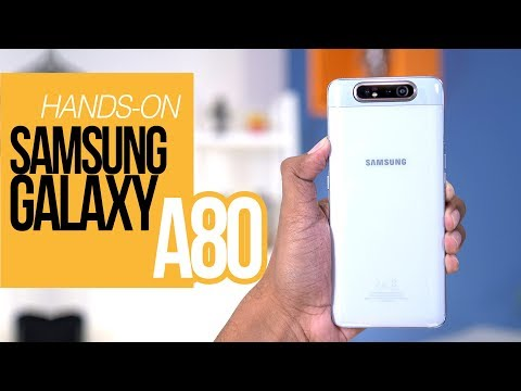 NAIK TURUN PUTAR PUTAR - Samsung Galaxy A80 Hands-on Review & Unboxing Indonesia