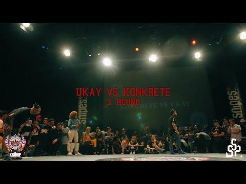 Ukay vs Konkrete | Exhibition Battle Pt. 2 | EBS KRUMP WORLD CHAMPIONSHIP 2016