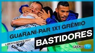 Confira os bastidores do empate do Tricolor no Paraguai. O Grêmio é o líder do grupo 8 da Conmebol Bridgestone Libertadores 2017. Imagens: Juares Dagort ...