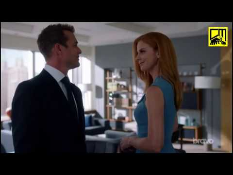 Harvey Flirts With Donna! & His Brother Calls! - Suits 8x05 'Strawberries And Whipped Cream...'