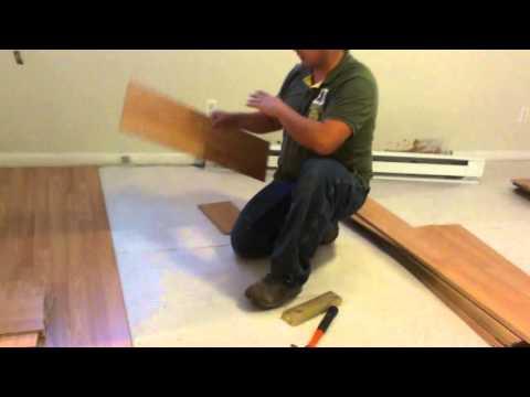 como instalar pisos laminados en una habitacion