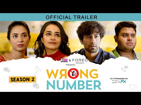 Wrong Number | Season 2 Official Trailer | Ft. Apoorva, Ambrish, Badri & Anjali | RVCJ Originals