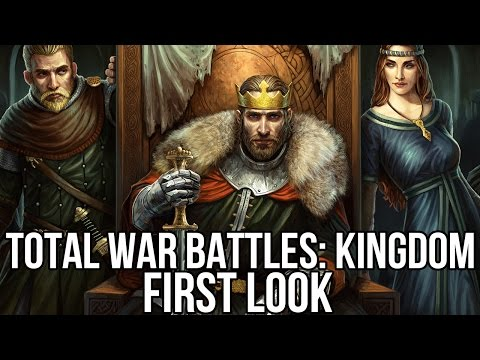 Total War Battles: Kingdom (Free MMORTS): Watcha Playin'? Gameplay First Look