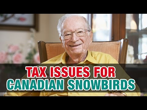 Tax consequences for Canadian snowbirds who travel to the U.S – Tax Tip Weekly