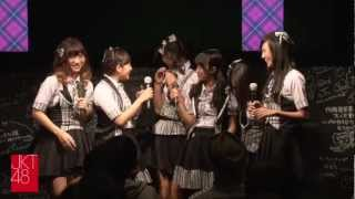 "Video ""Jakarta Tte Doko?"": JKT48 Event at  AKB48 Cafe&Shop Akihabara on November 4th, 2012 MP3, 3GP, MP4, WEBM, AVI, FLV Juli 2018"