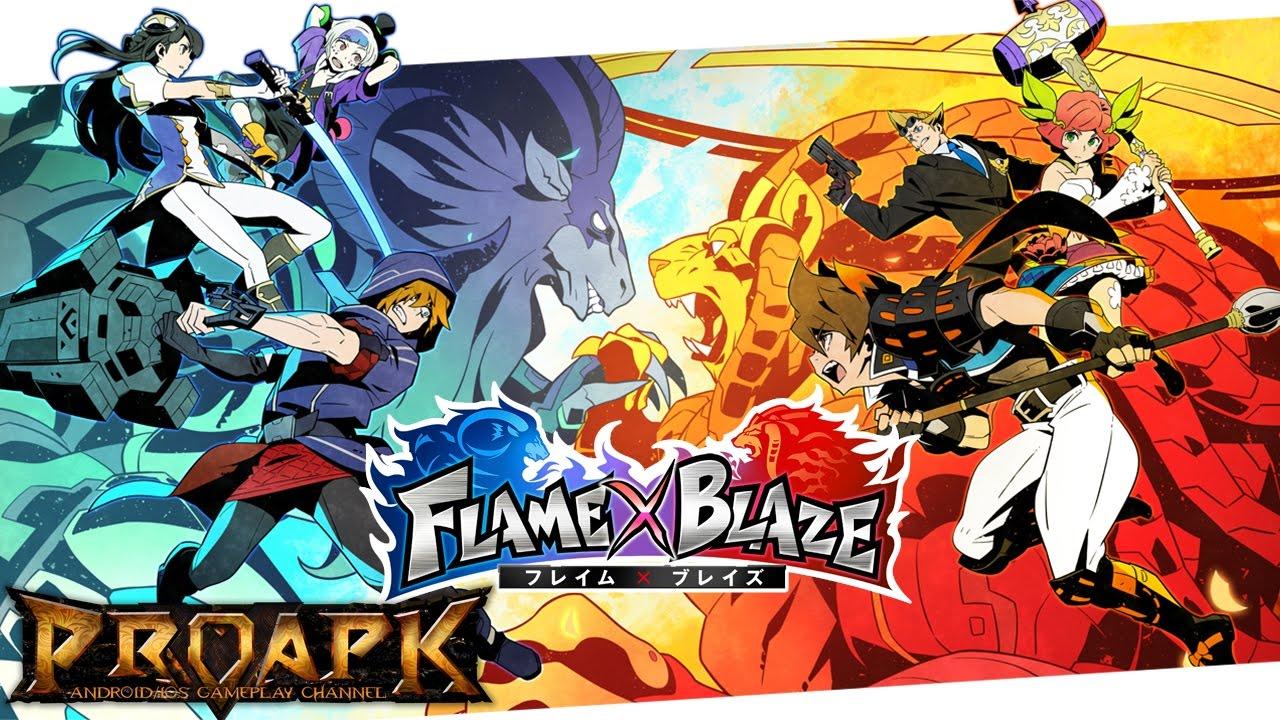 FLAME × BLAZE