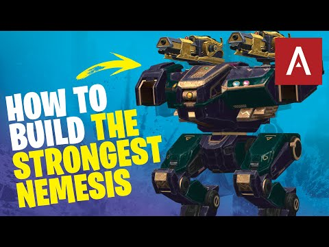 War Robots - Building the STRONGEST NEMESIS in the Game! WR Max Gameplay