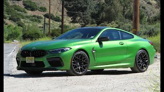 The BMW M8 Competition Coupe is the Fastest and Most Expensive BMW I've Driven - Two Takes by The Smoking Tire