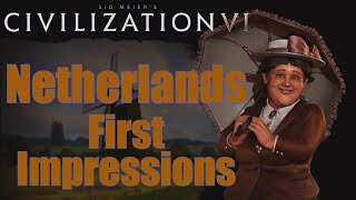 Video Civilization 6: First Impressions - Netherlands Civilization MP3, 3GP, MP4, WEBM, AVI, FLV Maret 2018