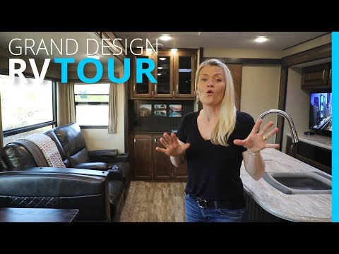 RV TOUR: HOW TO ORGANIZE | 2018 GRAND DESIGN REFLECTION 312BHTS