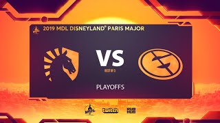 Team Liquid vs Evil Geniuses, MDL Disneyland® Paris Major, bo3, game 2 [JAM & Maelstorm]