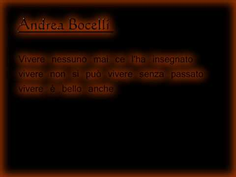 , title : 'Andrea Bocelli and Laura Pausini - Dare To Live - Lyrics'