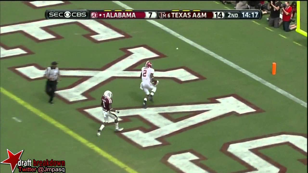 AJ McCarron vs Texas A&M (2013)