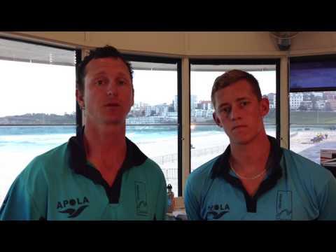 Bondi Rescue Lifeguards Selfie for REELise