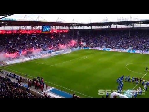 Video: 1. FC Magdeburg gegen SG Dynamo Dresden Choreo am 16.04.2016 (HD Apr. 2016)