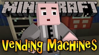 Minecraft Mod Review: VENDING MACHINES - Drinks&Candy!