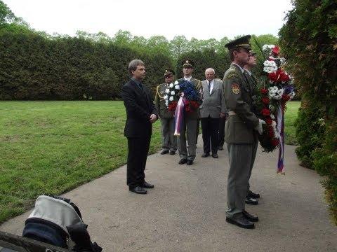 Pietní vzpomínka na oběti spojeneckých armád