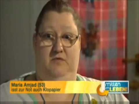 Dicke Frau isst Klopapier?! :D