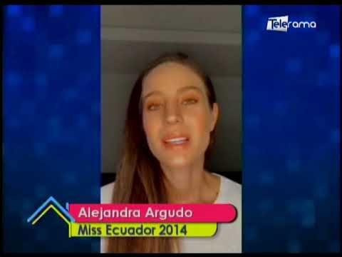 Alejandra Argudo, Miss Ecuador 2014 confirmó que tiene Covid-19