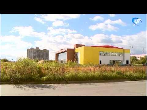 Завершение строительства спортивного центра на улице Псковская
