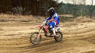 9. 12 Yr Old Kid On Crf150r Shows Me Who's BOSS