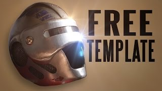 Get the FREE template here: https://armortemplates.com/This free template includes 10 different faceplates to fit my Bionic Helmet design. They feature some original designs, but a few designs inspired by popular movies and anime, like Alphonse Elric from Fullmetal Alchemist, a Star Wars Storm Trooper, Samus from Metroid,  Robocop, Star Lord from Guardians of the Galaxy, and another very famous Marvel Comics character, Iron Man.You can use these templates for your Cosplay Costume, or just as a cool display piece in your home. Or maybe you want to become a superhero or supervillain (hey, who am I to judge?).Whether you are brand new to metalworking or a seasoned pro, the Armor Templates method for building armor is easy and affordable. Don't be fooled by people telling you that this hobby is expensive. You can do all of this with affordable materials and ordinary tools you likely already own sitting in your garage.