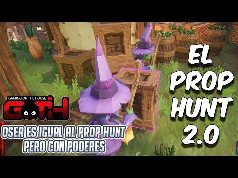 PROP HUNT CON BRUJAS 10/10! Witch IT en Español - GOTH
