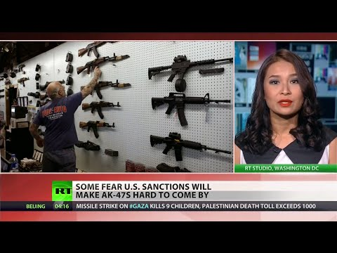 sanctions - US sanctions to prevent the import of the Russian made AK-47 are creating a frenzy among American customers trying to get their hands of the weapon while still available. Gun dealers are reporting...