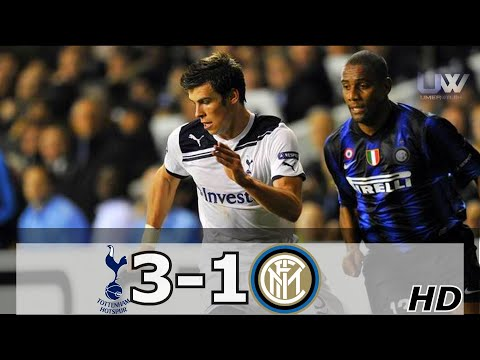 Tottenham Hotspur vs Inter Milan 3-1 | All Goals and Highlights - 2010