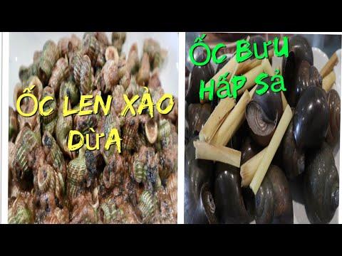 Vlog 551 ll Ốc Bươu Hấp Xả & Ốc Len Xào Dừa Ăn Tại Nhà Ở Mỹ - Thời lượng: 30 phút.