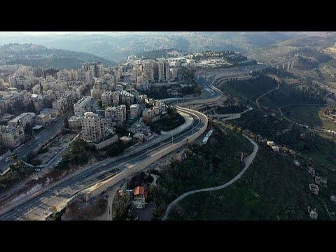 Les voies d'accès à Jérusalem désertées en raison du confinement