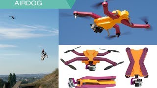 AirDog: World's First Auto-follow Drone for GoPro Camera